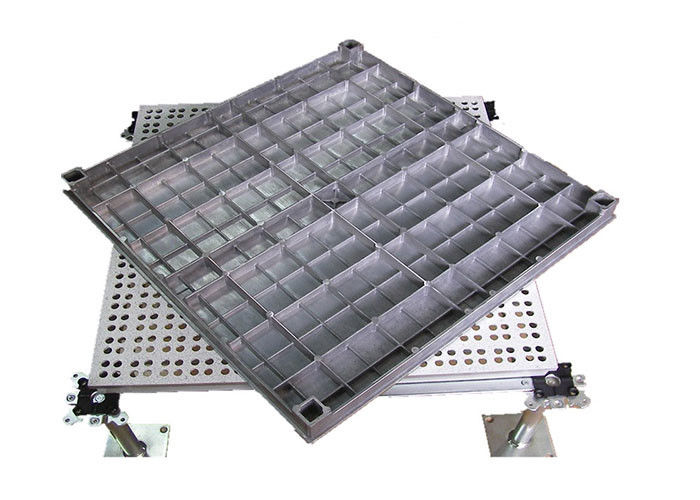 Recycled Aluminum Raised Floor Aluminum Alloy Anti - Static Raised Floor Convenient Removing