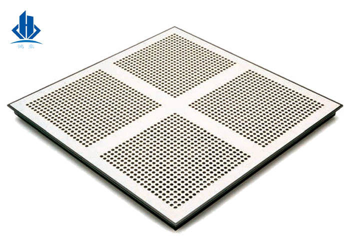 Air Flow Grills And Perforated Metal Floor Panels For Raised Access Floor Systems